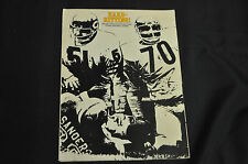 1973 CHICAGO TRIBUNE AND CHICAGO TODAY PRO FOOTBALL ADVERTISING SALES GUIDE!