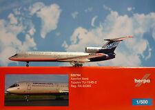 Herpa Wings 1:500  Tupolev TU-154B-2  Aeroflot Nord  RA-85365  528764