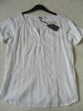 Fat Face Blouse Cotton Scoop Neck Tops & Shirts for Women