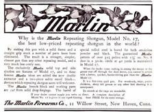 Vintage ad 1906 Marlin Repeating Shotguns Model 17 Cool ad Man Cave Art