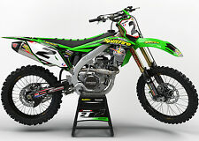 KAWASAKI KX 85 2014 - 2016 MOTOCROSS GRAPHICS MX GRAPHICS KIT SPLITFIRE GREEN