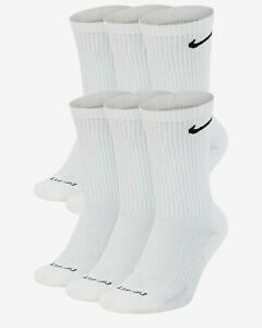 NIKE Everyday Performance PLUS Crew Socks Pick 1 - 3 - 6 Pairs DriFit NEW