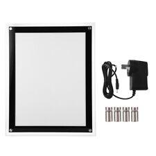 110V A3 LED Light Box Advertising Acrylic Snap Frame Backlit Board Poster Frame