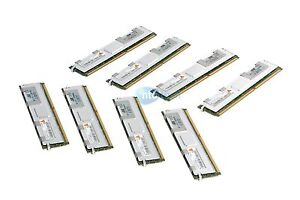 HP 32GB RAM Serveur Kit - 8x4GB PC2-5300 Fbdimm ECC Enregistré Mémoire