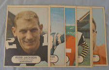 1968 CFL Lot of 15/16 O-Pee-Chee Near Posters Set