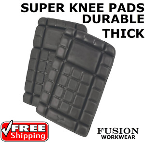 KNEE PADS, SUPERTOUCH,WORKWEAR,TROUSER KNEE PAD,GARDENING,SAFETY,PPE,DIY,VET,