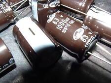50 x Samwha RD-1J-108M-16025-BB-1-00 1000uf 63v capacitor 105'C 15mm x 25mm