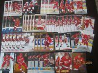 Huge Lot of (50) Sergei Fedorov Hockey Cards Red Wings