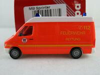 """Herpa 043335 MB Sprinter RTW (1997) """"Feuerwehr Hamburg"""" 1:87/H0 NEU/OVP"""