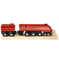Bigjigs Rail Wooden Heritage Collection Duchess of Hamilton Engine Locomotive