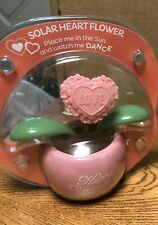 Solar Powered Dancing Toy New - VALENTINE'S DAY Dancing Flower - PINK
