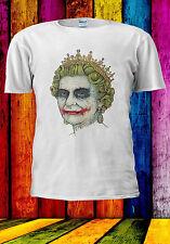 Elizabeth The Queen Joker Smile T-shirt Vest Tank Top Men Women Unisex 552