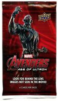 2015 Upper Deck Marvel Avengers: Age of Ultron Trading Card Pack