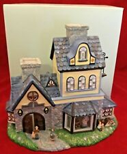 PartyLite Olde World Village Candle Shoppe Tealight House P7315 New in Box Nib