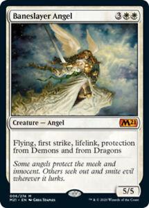 Baneslayer Angel - Foil x1 Magic the Gathering 1x Magic 2021 mtg card