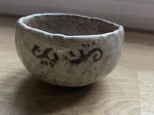 japanese matcha tea bowl mug stoneware ceramic d9cm green