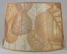 "13"" Shades of Gold Pressed Leaf Shade"