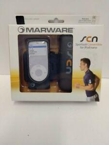 Marware Sportsuit Convertible for iPod Nano Sport Kit (Black) NEW