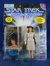 "Star Trek Holodeck Series STNG 1995 Beverly Crusher ""40' Attire"" Playmates MIMP"