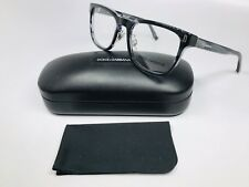 New Dolce Gabbana DG 3241 2924 Clear Grey Marble Eyeglasses 52mm with Case