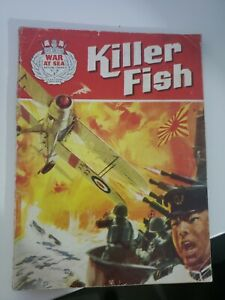 War at Sea number 2 KILER FISH