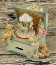 🔥San Francisco Music Box Co Music Box Toy Chest with Toyland Carousel🔥