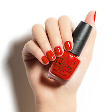 New OPI Breakfast At Tiffany's Nail Polish Lacquer Meet My Decorator Red