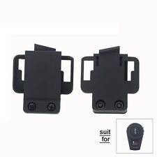 2x Clip Mount for Motorcycle BT Bluetooth Helmet Headset FDC-VB 500M Intercom
