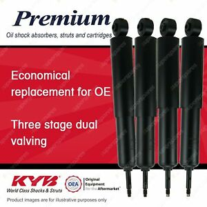 Front + Rear KYB PREMIUM Shock Absorbers for LAND ROVER Range Rover V8 4WD SUV
