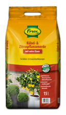 FRUX Kübel- & Zitruspflanzenerde Solitärpflanzen Balkon Terrasse Garten Erde 18L