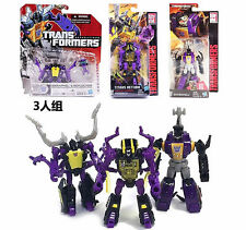 3pcs Transformers Legends Class Insecticons Bombshell Shrapnel Kickback New