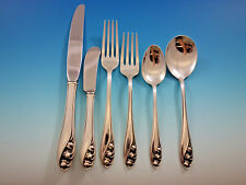Lily of the Valley by Gorham Sterling Silver Flatware Set 12 Service 85 Pieces