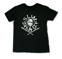Eminem Mask & Bats Black T Shirt New Official Slim Shady Rap Hip Hop