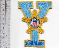 George W. Bush Protective Division Secret Service Yale University Service Patch