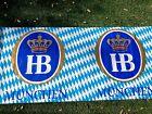 NEW Authentic Hofbrau Oktoberfest Banner /Flag /Bar /Table Wrap 50 Foot BOLT