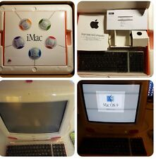 iMac G3 Strawberry 333Mhz In OVP Scatola E Manuali Originali