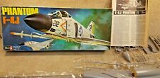 Complete Vintage 1972 Revell 1/32 Model Kit 21 Inch Long US Navy Phantom F-4J