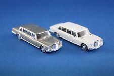 2er-set Brekina starmada Mercedes MB 600 pullman limousine 1/87 h0 sin OVP rar