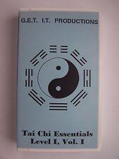 Tai Chi Essentials Level I Volume I VHS Tape