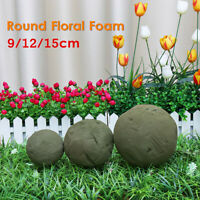 9/12/15cm Round Floral Foam Flowers Florist Wedding Bouquet Craft Ideal Holder