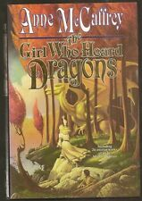 ANNE MCCAFFREY The Girl Who Heard Dragons. 1st ed. HC/dj. MICHAEL WHELAN illus