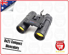 8x21 Binoculars Folding Roof Prism Compact Travel Binoculars Precision Optical