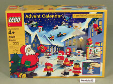 New In Box LEGO 4924 Advent Calendar 335 pieces Factory Sealed RARE 2004