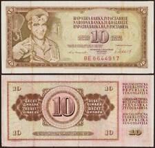 YUGOSLAVIA/JUGOSLAVIA 10 DINARA 4/11/1981
