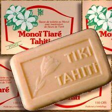 Confezione doppia MONOI Tiki Tahiti Savon pitaté 2x130g olio vegetale-SAPONE Tahiti-Gelsomino