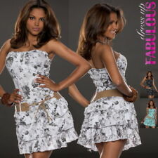 Unbranded Floral Strapless Dresses for Women