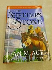 Auel, Jean M.   THE SHELTERS OF STONE 1st Edition First Printing