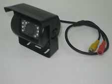 Heavy Duty Caravan CCD IR Colour Reversing Camera rear view black night vision