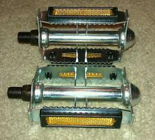 VINTAGE SCHWINN LE TOUR STYLE RAT TRAP BICYCLE PEDALS 9/16