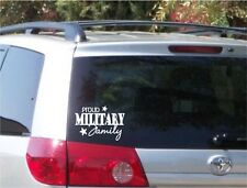 Proud Military Family Decal Bumper Sticker Car Window